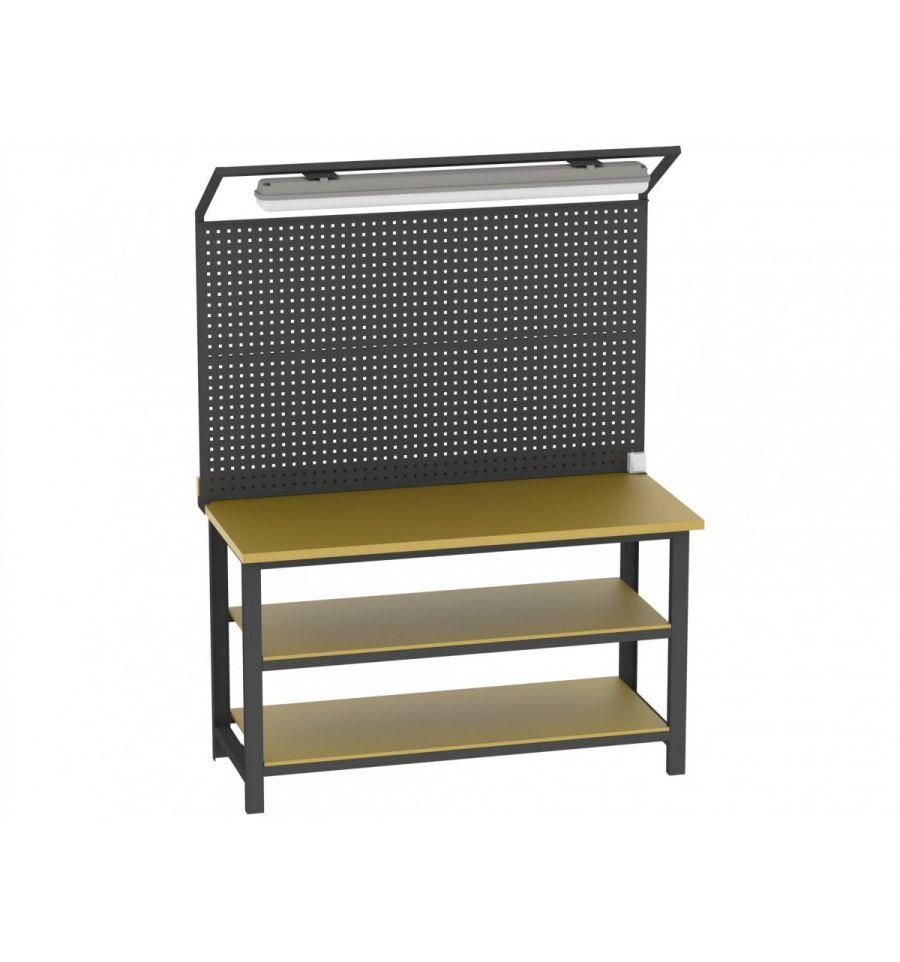 tf1596lbs15a/2pl135 werkstatttisch - metallmöbel heritus