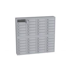 KD2x46 - hängender Schrank für Handys und kleine Dokumenten